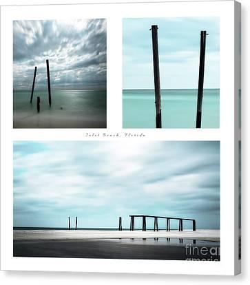 Inlet Beach Canvas Print by Doug Sturgess