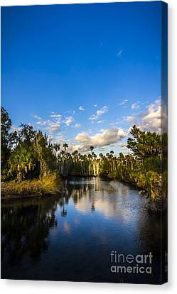 Inlet Cove Canvas Print by Marvin Spates