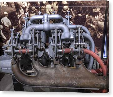 Inline Engine Aeronautics V2 Canvas Print by John Straton