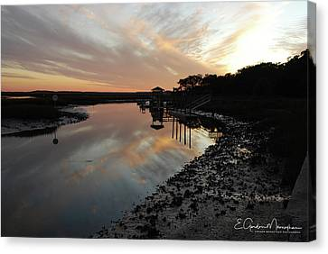 Inlet Sunset Canvas Print