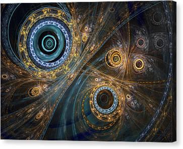 Inner Complex Canvas Print by Martin Capek