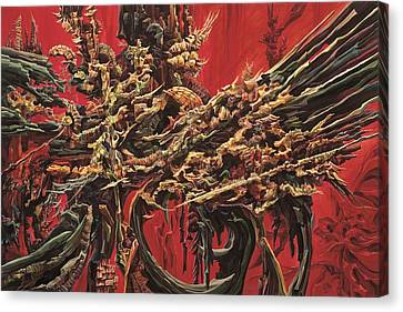 Inner Fire Canvas Print by Charles Cater