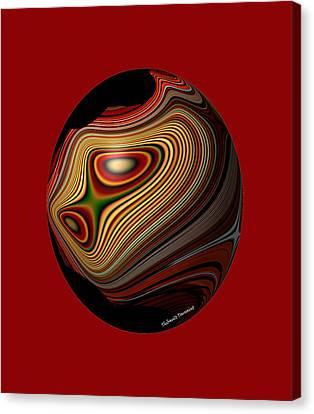 Inner Galaxy Canvas Print by Thibault Toussaint