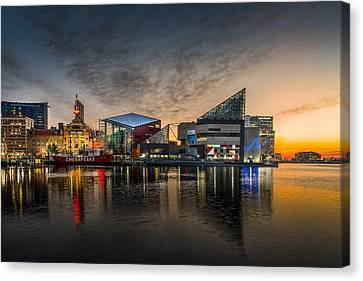 Inner Harbour  Canvas Print