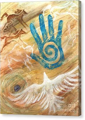 Inner Journey Canvas Print by Brandy Woods