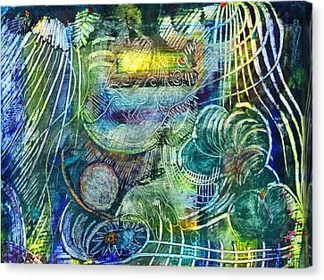 Inner Journey Canvas Print by Ishwar Malleret