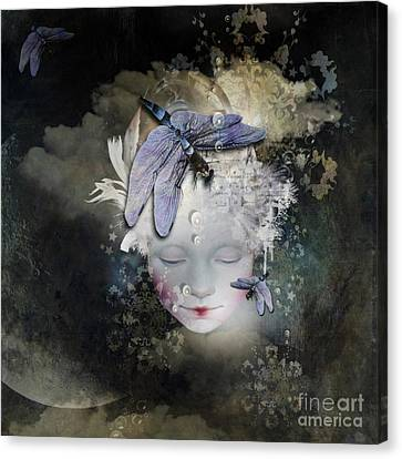 Inner Life Canvas Print by Monique Hierck