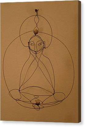 Inner Peace Canvas Print by Live Wire Spirit