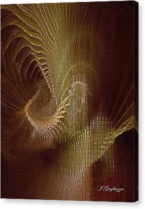 Inner Space Canvas Print by Jean Gugliuzza