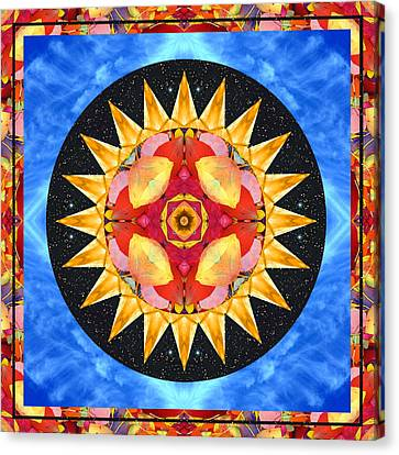 Inner Sun Canvas Print by Bell And Todd