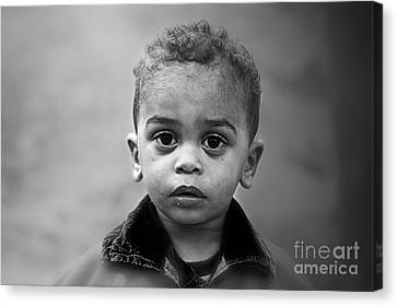 Innocence Canvas Print by Charuhas Images