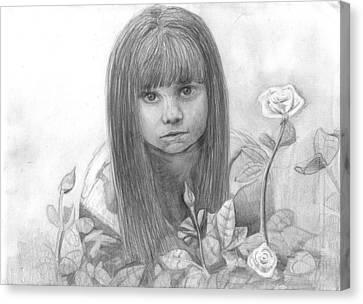 Innocence Canvas Print by Katie Alfonsi
