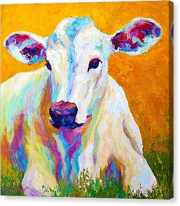 Farm Animal Canvas Print - Innocence by Marion Rose