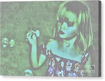 Innocence Canvas Print by Marsha Heiken