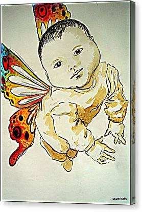 Innocence Canvas Print by Paulo Zerbato