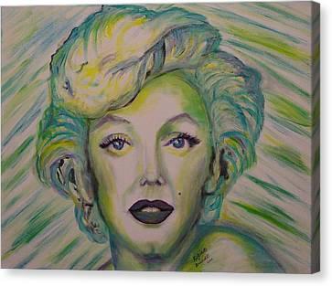 Innocent Marilyn Canvas Print by Regina Brandt