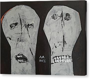 Innocents No 4  Canvas Print by Mark M Mellon