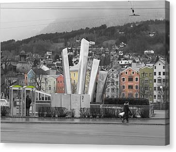 Innsbruck Art Canvas Print