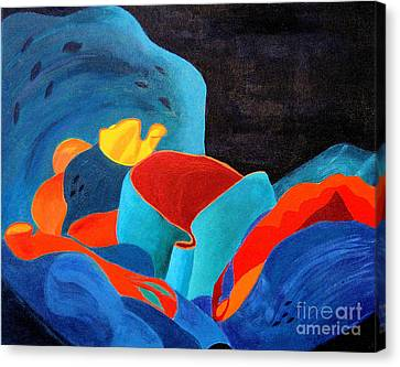 Inorganic Incandescence Canvas Print by Lynne Reichhart