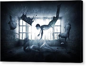 Insane World Canvas Print