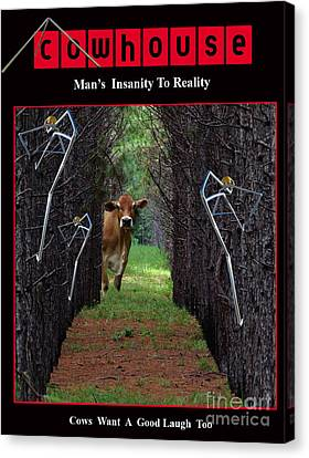 Insanity To Reality No. I Canvas Print by Geordie Gardiner