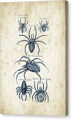 Insects - 1792 - 18 Canvas Print by Aged Pixel
