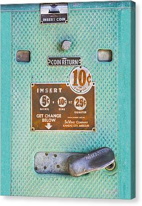 Insert Coin Canvas Print by Christina Lihani