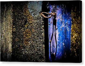 Canvas Print featuring the photograph Inside by Edgar Laureano