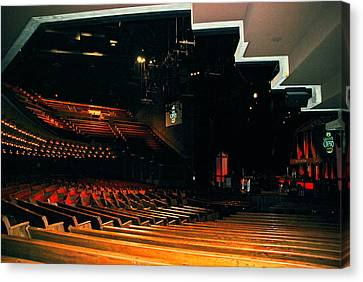 Inside Grand Ole Opry Nashville Canvas Print by Susanne Van Hulst