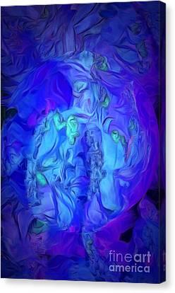 Inside My World IIi Canvas Print by Krissy Katsimbras