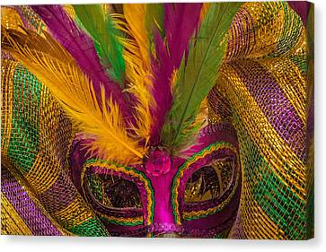 Canvas Print featuring the photograph Inside The Masquerade by Julie Andel