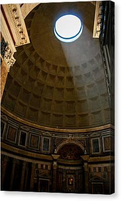 Inside The Pantheon Canvas Print