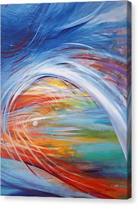 Inside The Rainbow Canvas Print