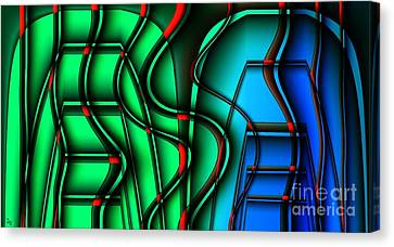 Inside The Toaster Canvas Print by Ron Bissett