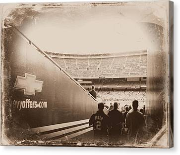 Inside The Cathedral Of Baseball IIi Canvas Print