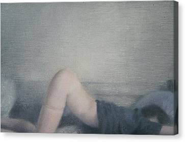 Insomnia-anxiety Canvas Print by Weiyu Xia