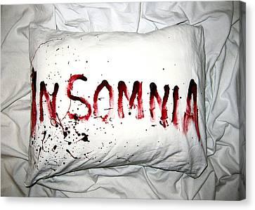 Insomnia Canvas Print by Nicklas Gustafsson