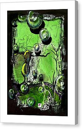 Canvas Print featuring the painting Inspire by Carol Rashawnna Williams