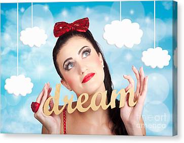 Inspire To Create. Pinup Your Dreams To The Sky Canvas Print by Jorgo Photography - Wall Art Gallery