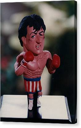 Inspired Rocky Canvas Print by Joaquin Carrasquilla
