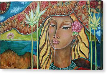 Sacred Artwork Canvas Print - Inspired by Shiloh Sophia McCloud