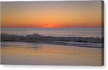 Inspiring Moments Canvas Print by Betsy Knapp