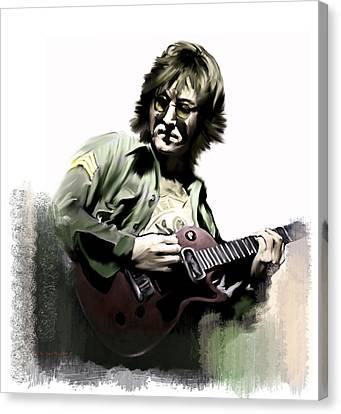 Instant Karma  John Lennon Canvas Print