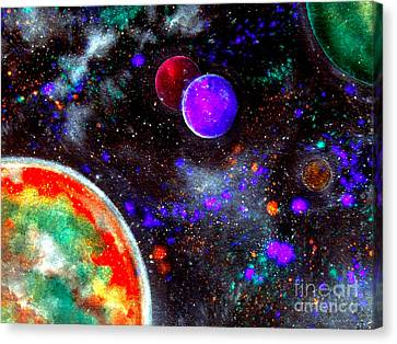 Intense Galaxy Canvas Print