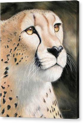 Intensity - Cheetah Canvas Print