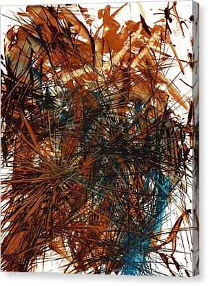 Intensive Abstract Expressionism Series 46.0710 Canvas Print by Kris Haas