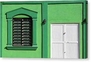 Interesting Doorways Canvas Print