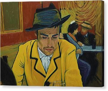 Vincent Canvas Print - Interesting Man by Sara Campos Froilan
