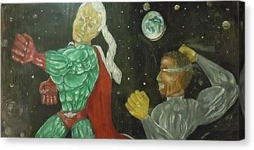 Intergalactica Canvas Print