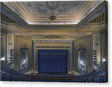 Saenger Canvas Print - Interior Of The Perot Theatre In Texarkana by Carol M Highsmith